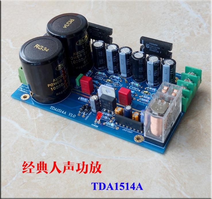 New TDA1514A HiFi Power Amplifier Board Kit Mono 40W Audio Amplifier Board stereo audio amplifier 2 x 40w