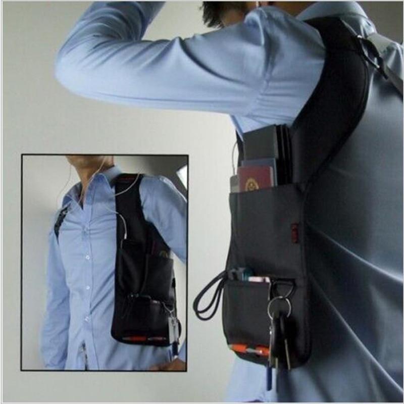 Underarm Storage Bag Holster Bags Multifunción Paquete de hombro Correa Messenger BagsTactical Mochila Bolsa de teléfono Organizador Bolsa