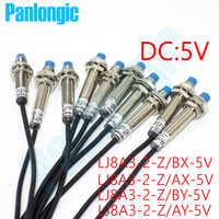 10pcs LJ8A3-2-Z/BX-5V LJ8A3-2-Z/AX-5V LJ8A3-2-Z/BY-5V LJ8A3-2-Z/AY-5V 2mm 5VDC Inductive Proximity Sensor Switch Free Shipping