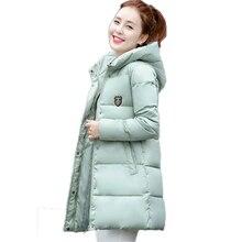 Новый 2016 Мода Тонкий Зимняя Куртка Женщины Повседневная Epaulet Капюшоном Плюс Размер Хлопка С Длинным Пальто Теплый Толстый Зимние Парки