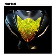 MAIKAI FOR SUZUKI GSX-R600 GSX R600 2014-2018 GSX-R750 R750 Motorcycle Headlight Protector Cover Shield Screen Lens