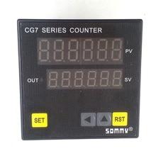 CG7-RB60 цифровой couters Многофункциональный счетчик 6-цифра подсчет реле выход