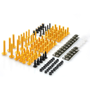 Image 2 - CNC Universal Acessórios Da Motocicleta Carenagem/brisas Parafusos Parafusos conjunto completo Para Suzuki gsf 600 bandit gs1000 gs500e gs 500 e