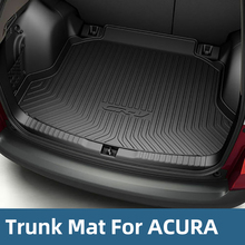 All Weather Cargo Trunk Liner Floor Mat Rear Tray For ACURA CDX RDX TLX 2015-2018