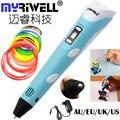 Myriwell 3D Pen 2nd Generation Magic Printer Pen Drawing PLA Filament 3D Printing 3D Pens For Kids Birthday Present Useful Gifts