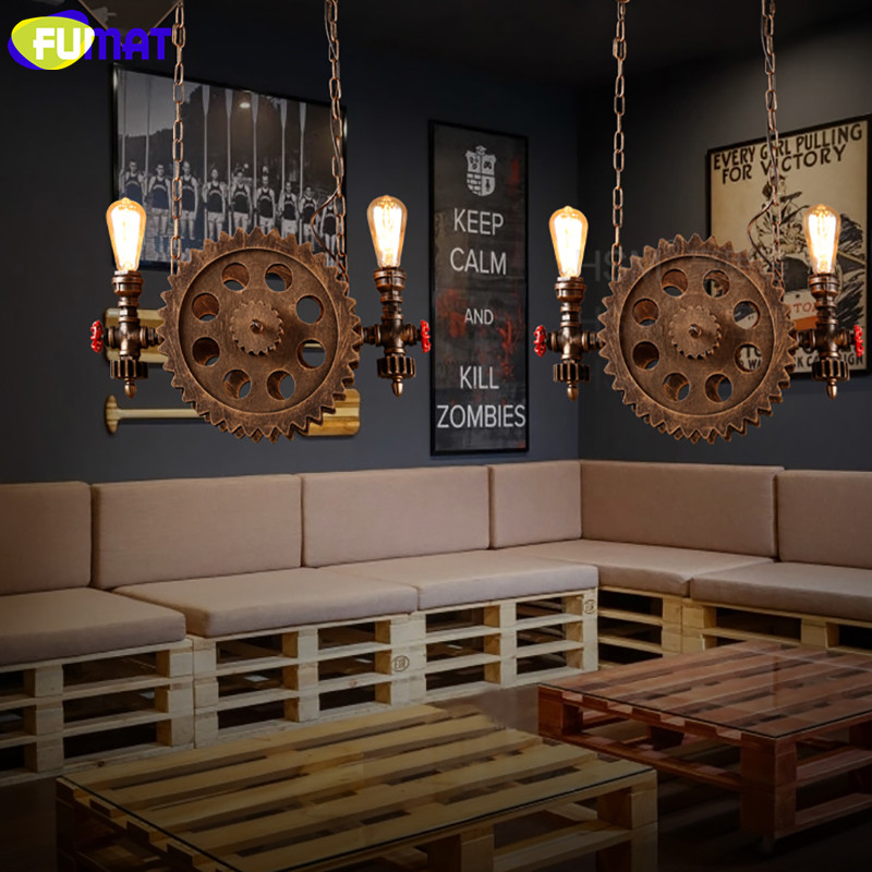 Gear Pendant Light 12