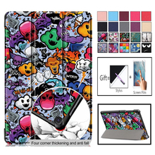 Case For Samsung Galaxy Tab S5E 10.5 2019 SM-T720 SM-T725 T725 Cover Funda Slim Magnetic Folding PU Leather Stand Fundas Shell