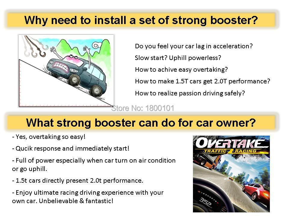 Update Sprint Booster 8 modus auto drosselklappensteuerung pedal ...