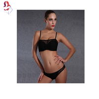 UCHIHA LQ Bikini Woman 2017 New Sexy High Quality Net Yarn Simple Section Swimsuit Monokini Junior