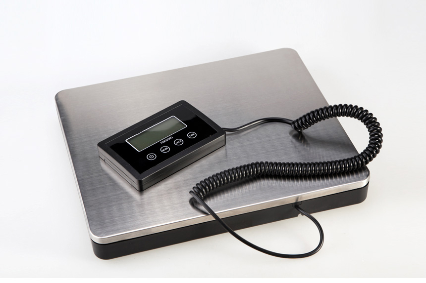 Electronic digital luggage loadometer platform balance kitchen  industrial floor scale  180KG=400lb 800g electronic balance measuring scale with different units counting balance and weight balance