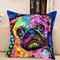 Прекрасная Собака Чехлы Творческий Животных Подушкой Для Гостиной Местный Номер 43x43 см 1pce