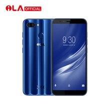 Оригинальный iLA Silk 4GB RAM 64GB ROM Мобильный телефон Snapdragon 430 Octa Core 5.7 '' 18: 9 Дисплей Real Dual Back Camera Smartphone