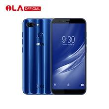 Eredeti iLA Silk 4 GB-os RAM 64 GB-os ROM mobiltelefon Snapdragon 430 Octa Core 5.7 '' 18: 9 kijelző Real Dual Back kamera intelligens
