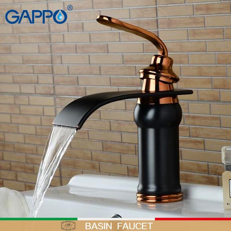 GAPPO Basin faucets basin mixer tap bathroom faucet wall ...