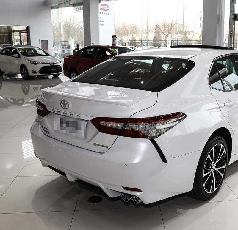 Spoiler For Toyota Camry 2018 New ABS Plastic Unpainted Primer Color Auto External Rear Trunk Boot Wing Spoiler Car Accessories