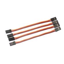 10pcs lot 150mm 10cm15cm 22AWG JR male to male RC servo extension lead cord plug servo