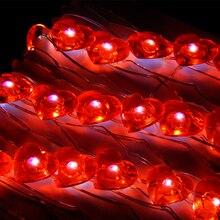 Herz/Rentier Wasserdichten Lichterketten Rotes
