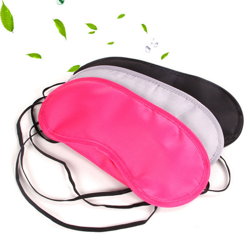 2018 New 1PC Travel Sleeping Masks Aids Helper Eye Shade Cover Comfort Care Blindfolds Hot Sales
