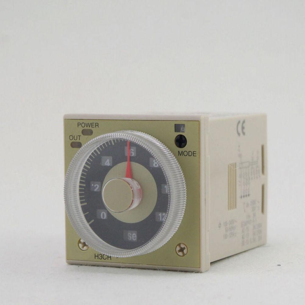 Standard Models Time Time-lapse Multi-functional Multi-purpose Timer H3CR-A 100-125VDC/100-240VAC DPDT 11Pins &Socket