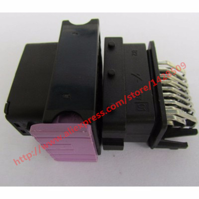1 Set FCI ECU Connector 24 Pin 24 Way Male And Female Housing Sealed Plug Socket 211PC249S8005/211PC249S8005 title=