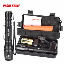 Cheap price 2017 NEW G700 X800 CREE XML T6 LED Zoom Tactical Military Flashlight Super Torch Set  S98