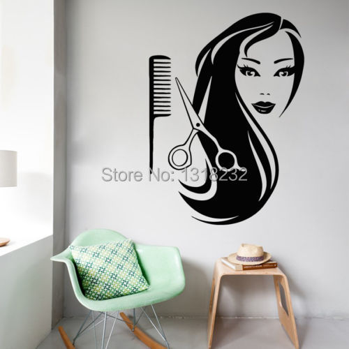 Compare prices on interior glass wall online shopping buy for Decoration salon de coiffure femme