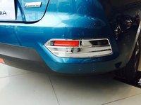 PC ABS Front Fog Lamp Frame Rear Fog Lamp Frame Brake Light Frame Decorate FOR Nissan