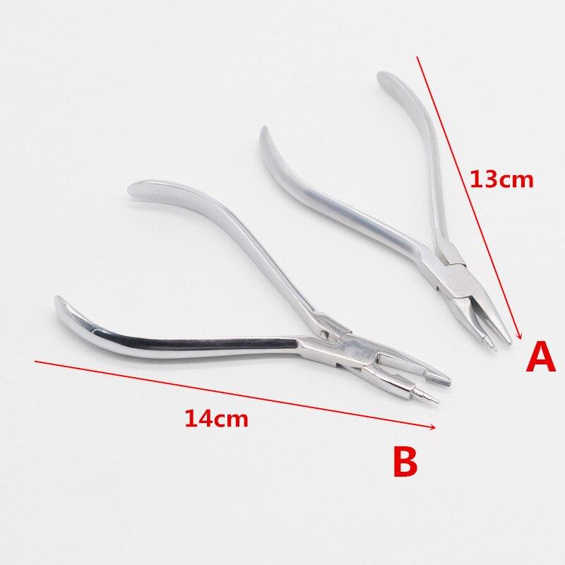 Стоматологический ортодонтический твид Омега петля изгиб формируя инструмент щипцы для стоматологии лаборатории пункт