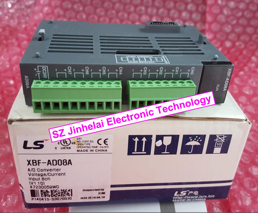 100% New and original  XBF-AD08A  LS PLC   8 channel analog input (voltage/current) 100% new and original g6i d22a ls lg plc input module