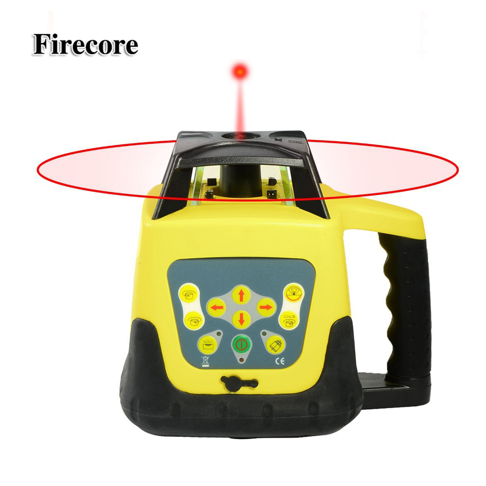 Firecore F003 500 500m High Accurate Red Beam Automatic Rotary Self leveling Laser Level