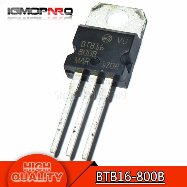 10 шт Бесплатная доставка BTB16-800B BTB16-800 BTB016 Симисторы 16 ампер 800 вольт К-220 новый оригинальный