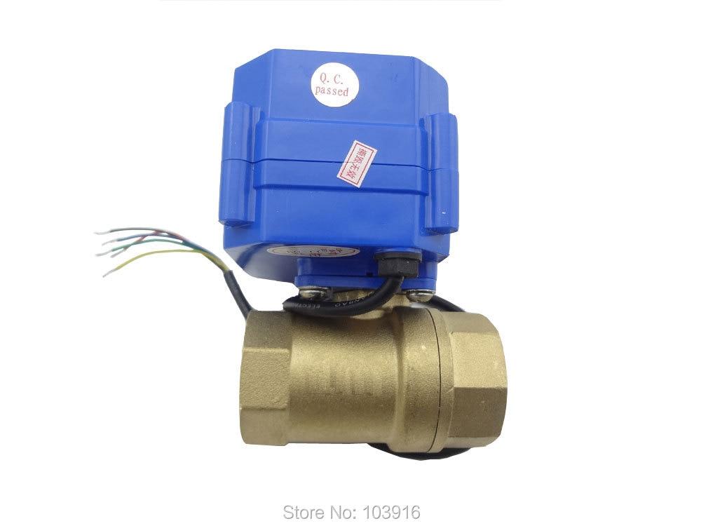 ФОТО 220v, 2 way, DN25(reduce port), motorized ball valve, electrical valve, motorized valve