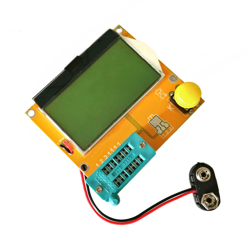 LCR-T4 Mega328 M328 Multimeter LCD Backlight Transistor Tester Diode Triode Capacitance ESR Meter MOS PNP NPN LCR mini multimeter holdpeak hp 36c ad dc manual range digital multimeter meter portable digital multimeter page 2