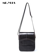 MR.YLLS Brand Men Luxury Genuine Leather Messenger Bag Famous Designer Male Work Shoulder Bag Men Business Crossbody Bags