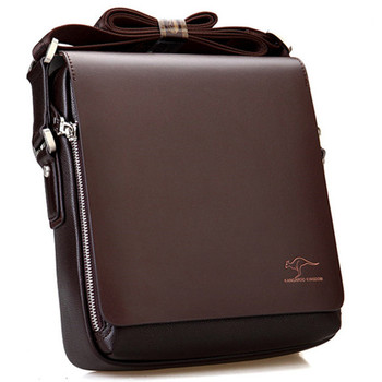 New Chegou Marca de luxo saco de ombro de couro saco do mensageiro dos homens Do Vintage Bonito saco crossbody bolsas Frete Grátis