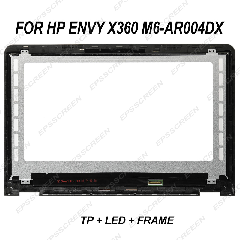 "HP Envy  M6-AR004DX 15.6/"" FHD  Touch Screen Assembly with Bezel Frame"