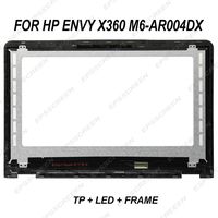 15.6 replace led lcd display for HP ENVY X360 M6 AR004DX touch panel + screen + frame 30 pin fhd 1920*1080 assembly