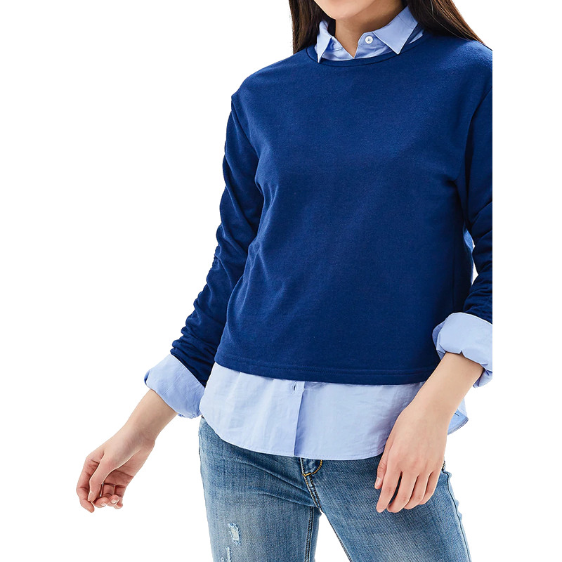 Sweaters MODIS M181W00562 women jumper sweater clothes apparel pullover for female TmallFS sweaters modis m181w00463 woman sweater jumper turtleneck pullover for female tmallfs