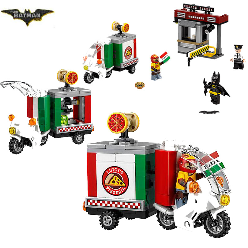 2017 New LEPIN 07057 Batman Movie Scarecrow Special Delivery Man-Bat Building Block Toys Gift For Children Batman 70910