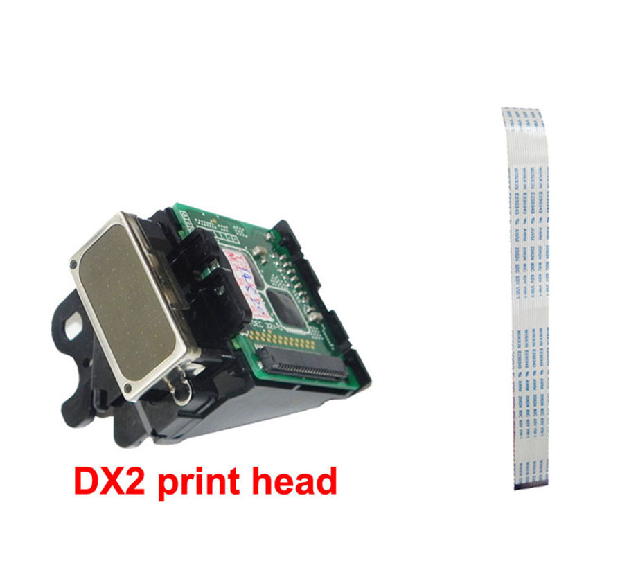 DX2 Solvent print head with 1 pcs Prtinthead Line Free for Epson 1520k pro7000 3000 9500 for roland SJ500 SJ600 9000 for epson dx2 print head color genuine mimaki jv2 roland fj40 42 mutoh for epson pro 3000 7000 7500 9000 9500etc