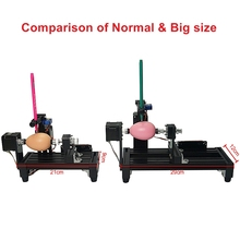 Assembled LY normal size eggdraw eggbot Egg-drawing robot draw machine Spheres drawing machine drawing on egg and ball for ed bowknot owl print draw diamond drawing