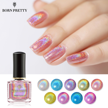 BORN PRETTY Light Sensitive Holographic Nail Polish 6ml