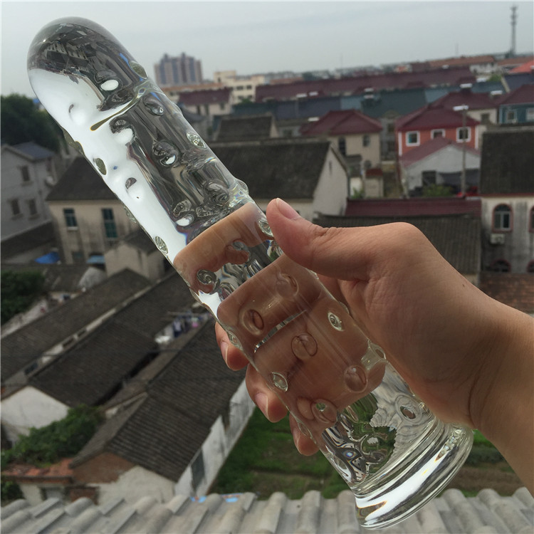 Pyrex glass crystal dildo penis Anal butt plug Sex toy Adult products for women men female male masturbation 10pcs pyrex glass dildo crystal anal bead butt plug fake penis dick prostate massage masturbation sex toys for women gay female