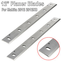 2Pcs 12'' Planer Blades Knives For Makita 2012 2012NB HSS 305x32x3mm for Woodworking Power Tool Parts