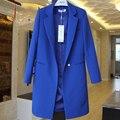 Осень новый отдых пиджак женский летний длинный абзац Г-Жа малых костюм весна и осень ветровка женская