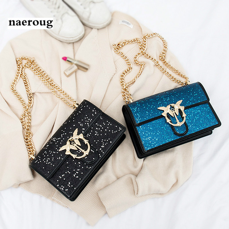 Luxury Women Small Flap Chains Swallow Messenger Bags,2018 New Famous Designer Crossbody Bag,High Quality PVC Leather Louis Bag famous brand designer 2018 ladies small messenger bags women serpentine leather shoulder bag high quality chains crossbody bags