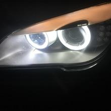 2x120 W H8 белый светодиодный светильник с ангельским глазом, галогенный кольцевой маркер, сменный комплект для замены лампы для 09-13 F01 F02(730 740 750 760
