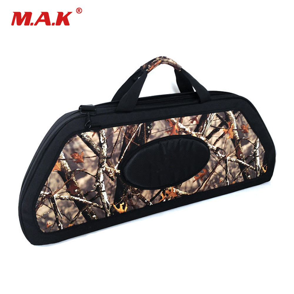 Black Compound Bow Bag Hard Bow Package Built-in Pulley Protection For Compound Bow Archery Hunting Shooting ActivitiesBlack Compound Bow Bag Hard Bow Package Built-in Pulley Protection For Compound Bow Archery Hunting Shooting Activities