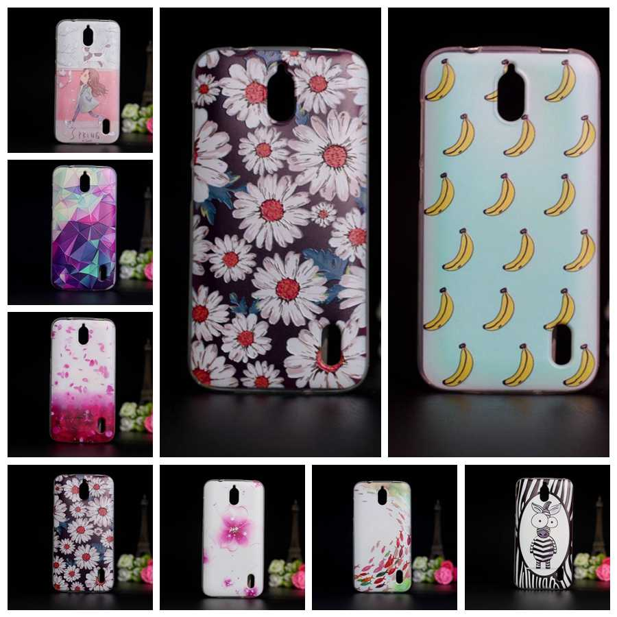 ae41dcce137 Silicone Case Cover For Huawei Ascend Y625 TPU Soft 3D Relief Printing  Cover Case For Huawei