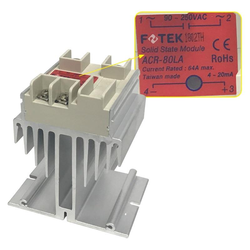 ACR Series Strengthen Heat Dissipation Type IP58 Fotek Dual Thyristors Modules ACR-80LA+ACR Series Strengthen Heat Dissipation Type IP58 Fotek Dual Thyristors Modules ACR-80LA+
